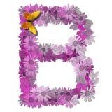 алфавитное письмо consonant b Стоковое фото RF