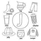 Алфавит детей вектора милый бесплатная иллюстрация