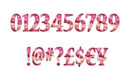 Алфавит металла золота блестящий Стоковые Изображения RF