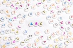 алфавит отбортовывает письмо Стоковое Фото