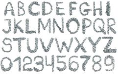 Алфавит от цепи металла Стоковое фото RF