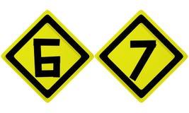 алфавит помечает буквами номер Стоковые Изображения