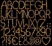 алфавит Стоковые Изображения RF