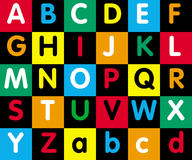 алфавит Стоковая Фотография RF