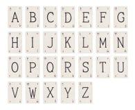 алфавит Стоковое Изображение RF