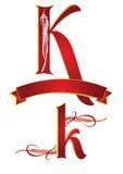 алфавит k бесплатная иллюстрация