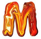 алфавит m Стоковая Фотография RF