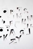 алфавит papery Стоковое Фото