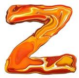 алфавит z Стоковое фото RF