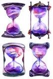 Алхимические часы песка бесплатная иллюстрация