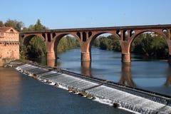 Альби Мост Pont Neuf новый стоковые фотографии rf