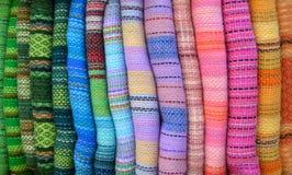 альпака blankets цветастое Стоковое Изображение RF