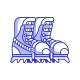 Альпинизм Boots значок иллюстрация штока