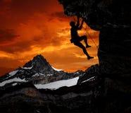 альпинисты Стоковая Фотография RF