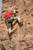 альпинист действия Стоковое Фото