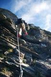 альпинист Стоковая Фотография RF
