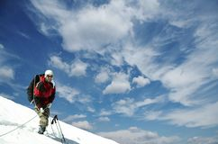 альпинист Стоковые Изображения RF