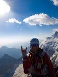 Альпинист Стоковые Фото