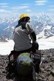 альпинист alp Стоковое Изображение RF