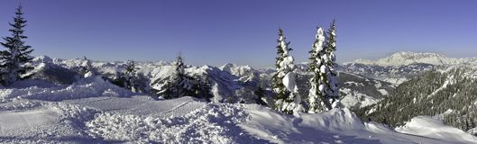 Альпы, Австрия стоковая фотография rf