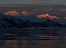 Альп в Норвегии Стоковое фото RF