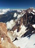 Альп Стоковая Фотография
