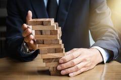 Альтернативные концепция, план и стратегия риска в деле, детеныше i Стоковые Изображения