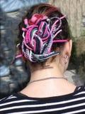 альтернативный стиль причёсок Стоковые Фотографии RF