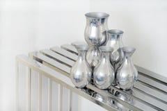 Алюминиевая ваза стоковая фотография