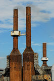 алюминиевая фабрика Стоковые Изображения