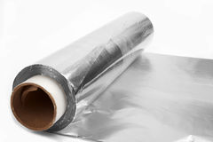 Алюминиевая фольга Стоковые Фото