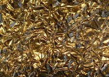 алюминиевое золото фольги цвета Стоковые Изображения