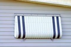 алюминиевое предохранение от урагана Стоковые Фотографии RF