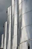 алюминиевые большие баки Стоковое Изображение RF