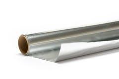 алюминиевые фольги Стоковое Изображение RF