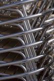 алюминиевые cahirs Стоковое Изображение