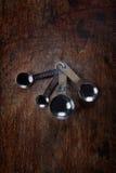 алюминиевый измеряя tablespoon Стоковая Фотография RF