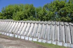 Алюминиевый промышленный ангар стоковые фотографии rf