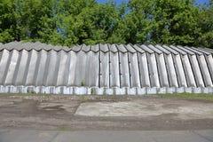 Алюминиевый промышленный ангар стоковые изображения rf