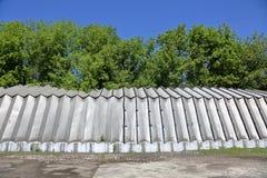 Алюминиевый промышленный ангар стоковая фотография rf