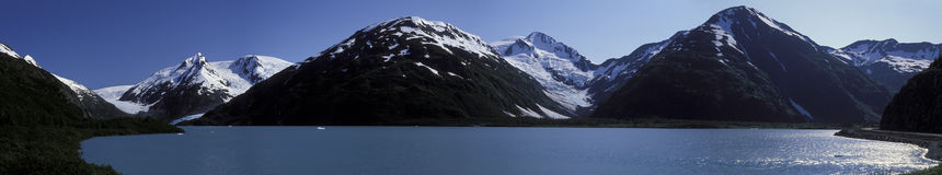 Аляска панорамное Стоковая Фотография