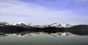 Аляскская горная цепь Стоковые Изображения RF