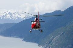 аляскская серия вертолета стоковая фотография rf