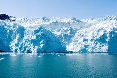 аляскские ледники Стоковые Изображения RF