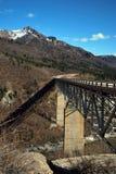 аляскский мост стоковые фотографии rf