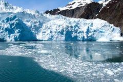 аляскское глобальное потепление ледника Стоковые Фото