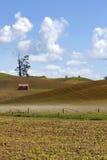 Амбар в поле Стоковые Изображения