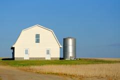 Амбар и ферма Стоковое Изображение RF
