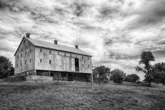 Амбар B&W Frederick County Стоковое фото RF