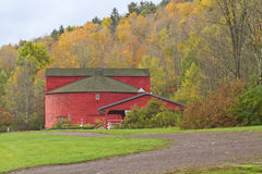 Амбар Catskills круглый Стоковое Фото
